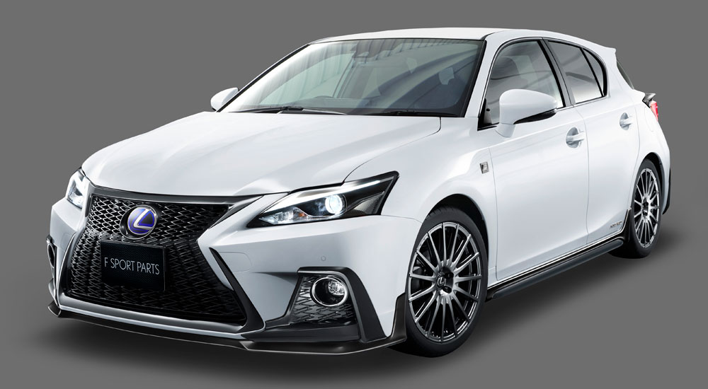 2018 Lexus Ct F Sport Body Kit From Trd An