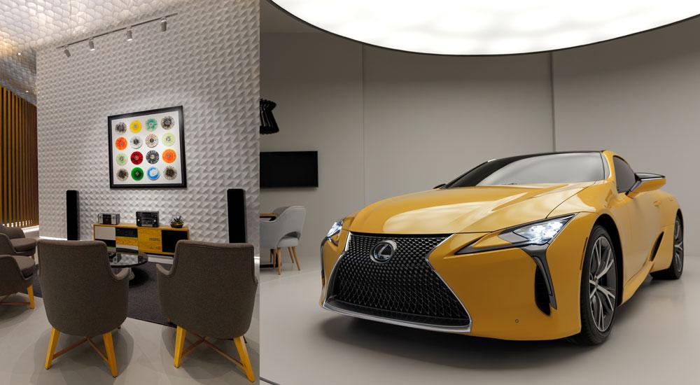 Lexus Dome Russia
