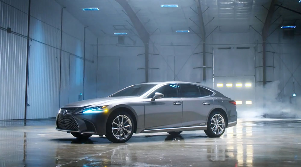 Lexus LS Canada Video