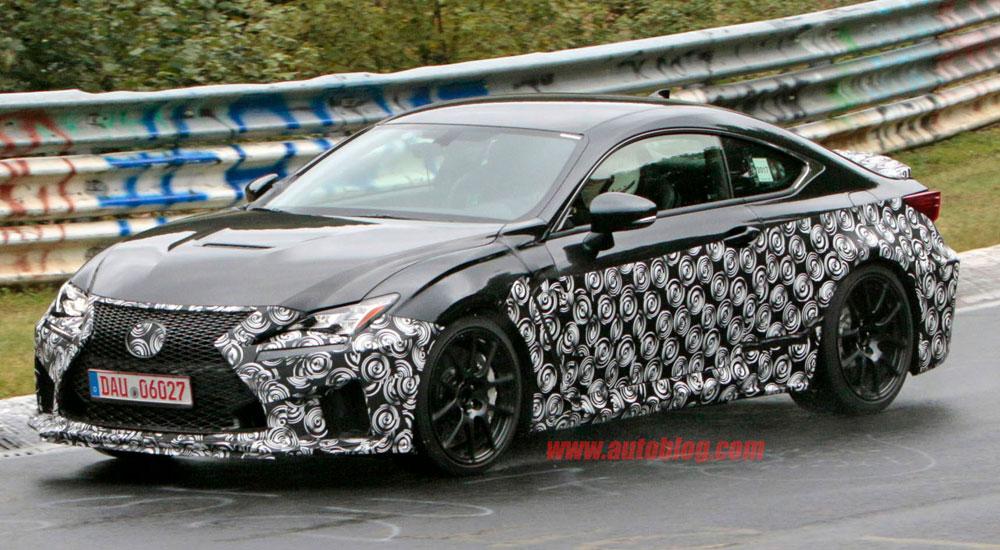 Lexus RC F Updates