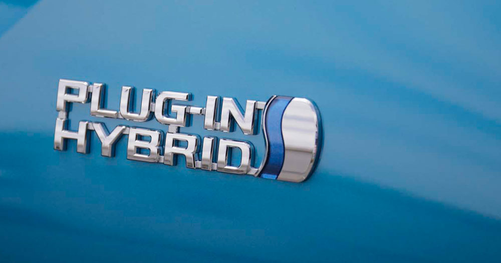 Lexus Toyota Plug-in Badge