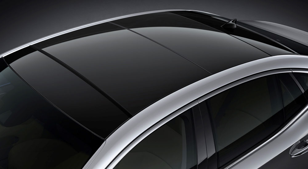 Lexus LS Panoramic Glass Roof