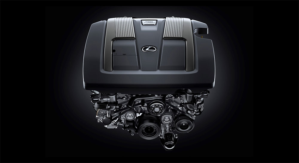 Lexus LS Twin Turbo Engine