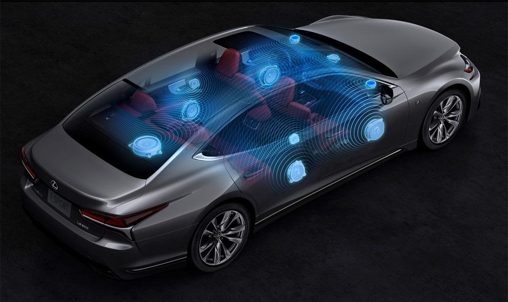 Lexus LS Pioneer Sound System