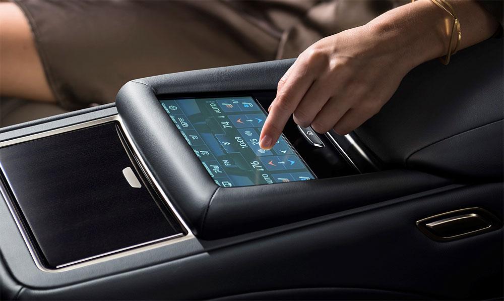 Lexus LS Rear Arm Rest