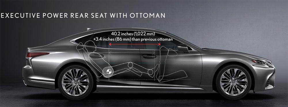 Lexus LS Rear Ottoman
