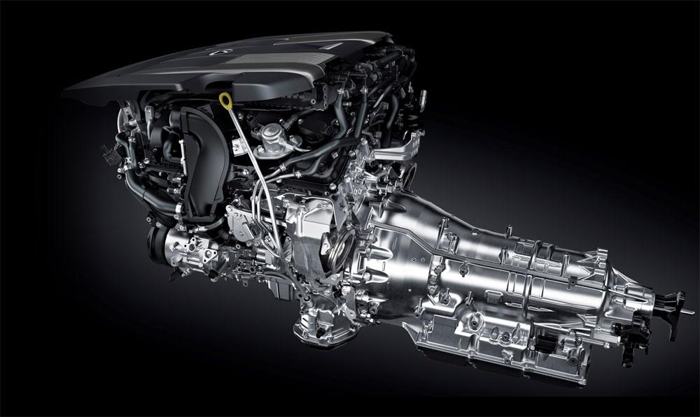 Lexus LS Transmission