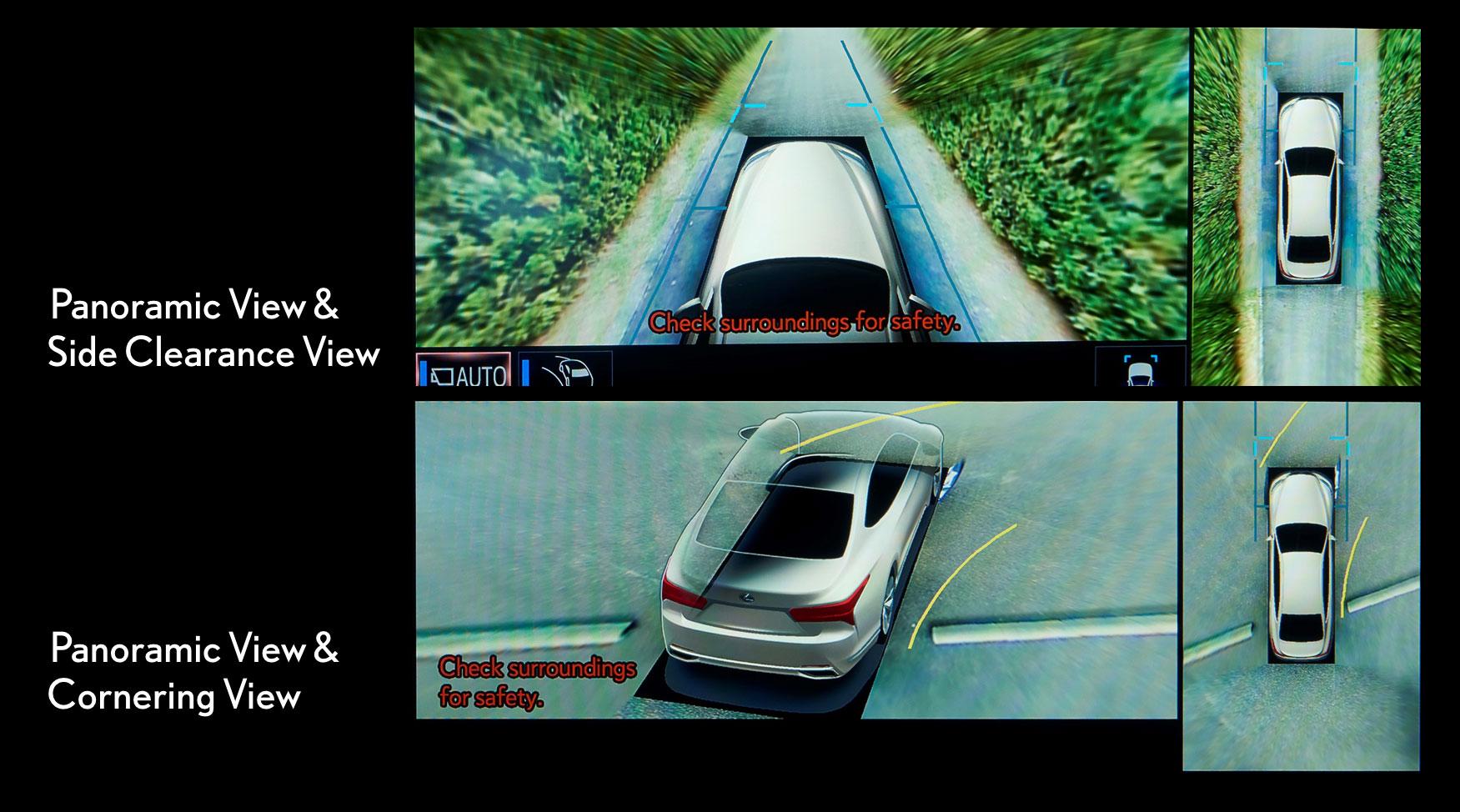 Lexus LS Panoramic View Monitor