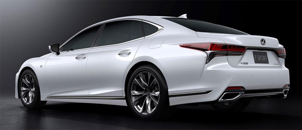Lexus LS F SPORT Rear