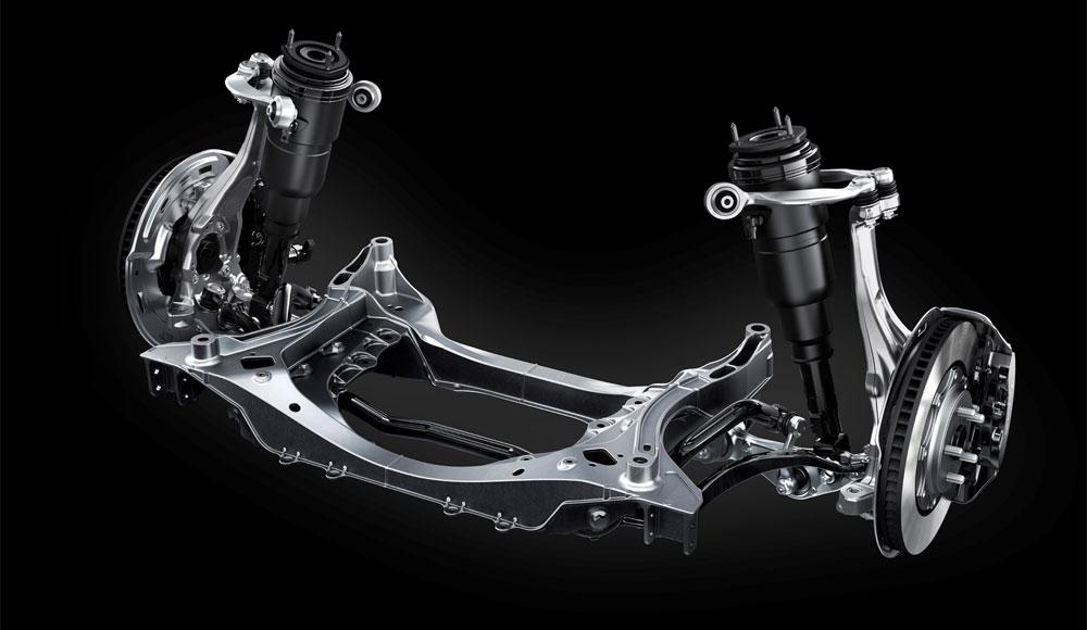 Lexus LS Air Suspension
