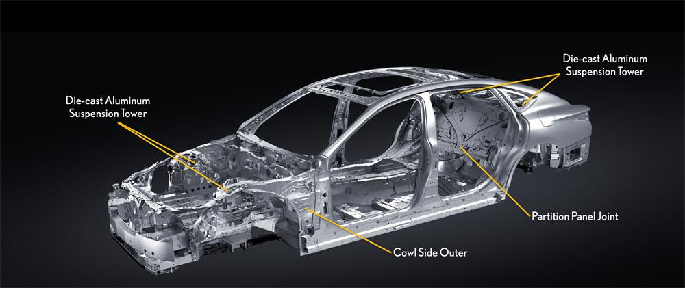 Lexus LS Chassis Aluminum