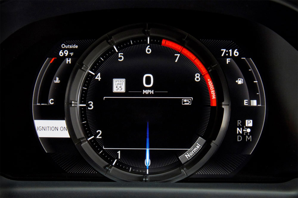 Lexus LS F SPORT Instrument Panel
