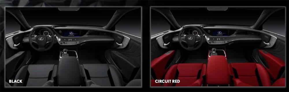 Lexus LS F SPORT Interiors