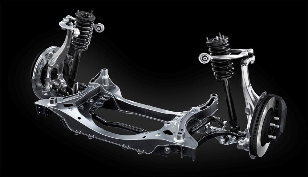 Lexus LS Front Suspension