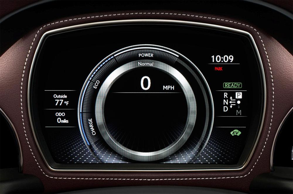 Lexus LS Instrument Panel