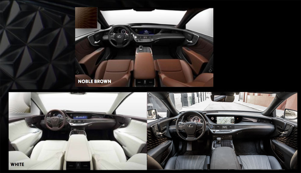 Lexus LS Executive Interiors