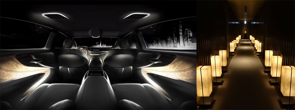 Lexus LS Interior Lighting