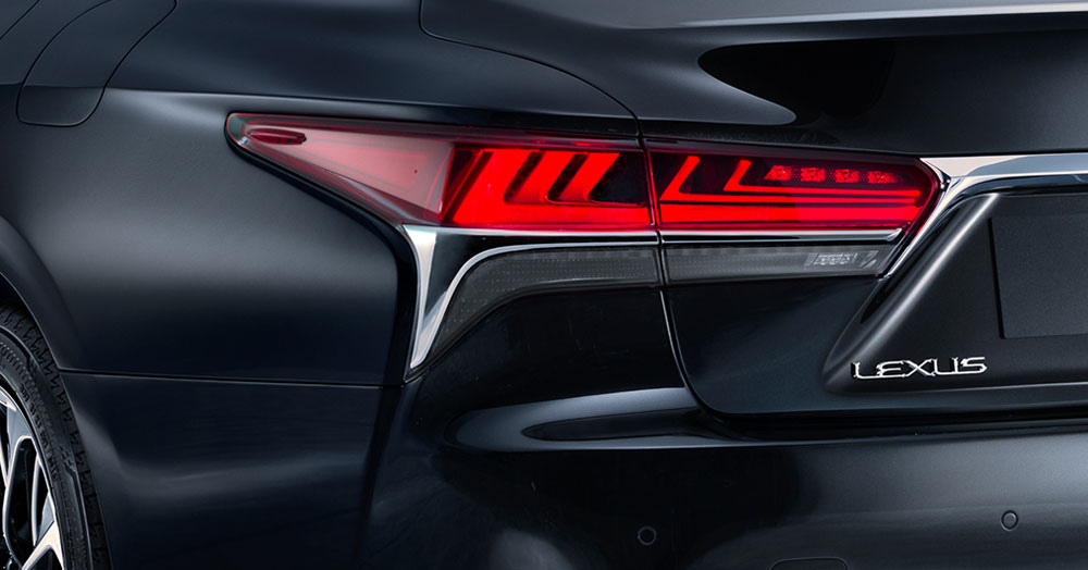 Lexus LS Rear Lights