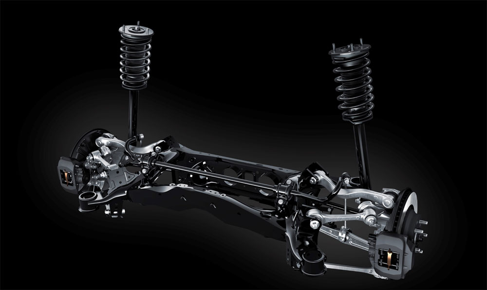 Lexus LS Rear Suspension