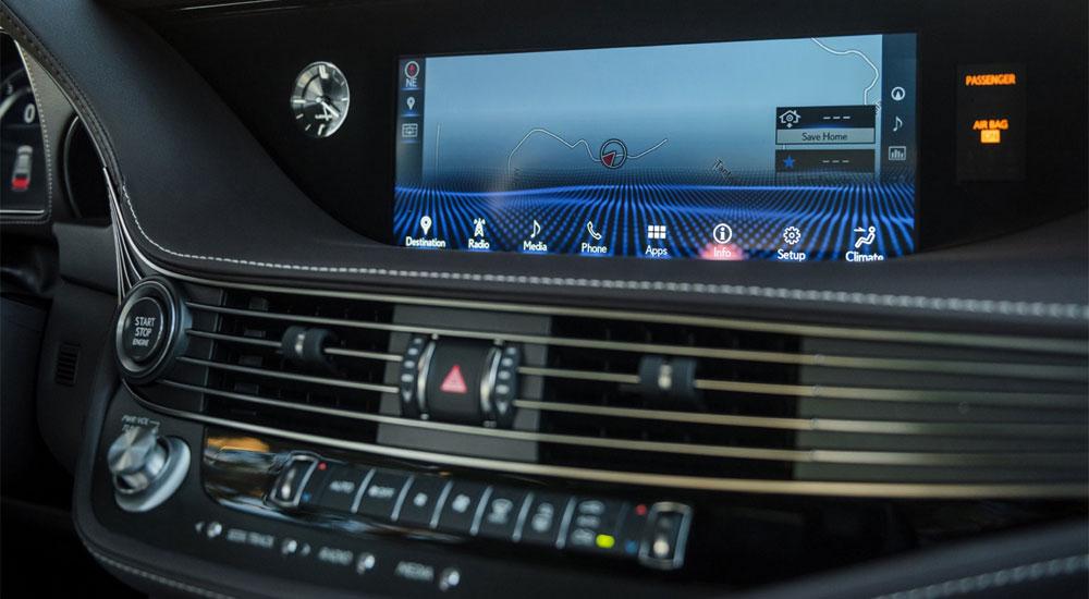 Lexus LS Multimedia System