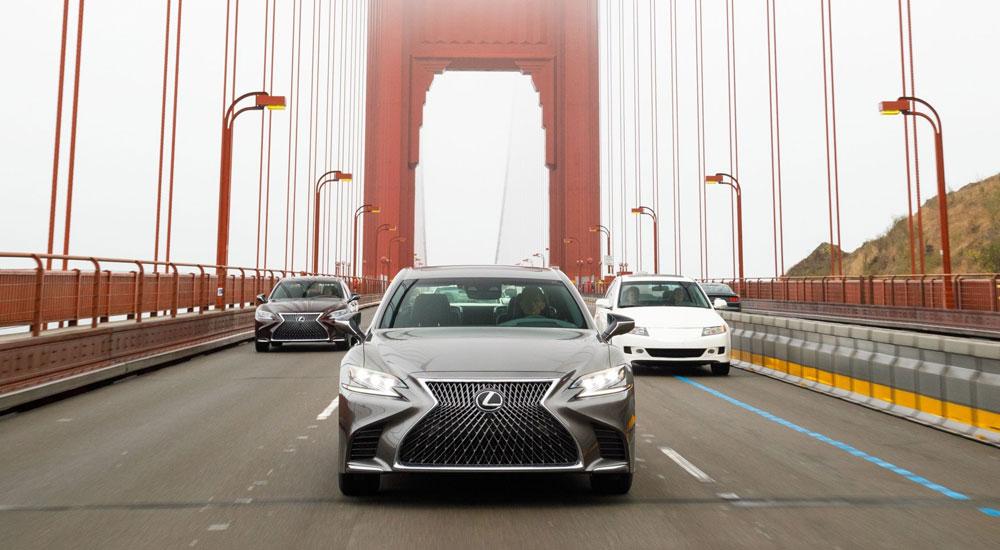 Lexus LS Car & Driver