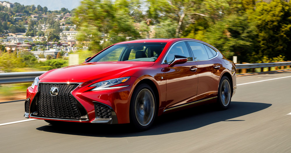 Lexus LS Reviews