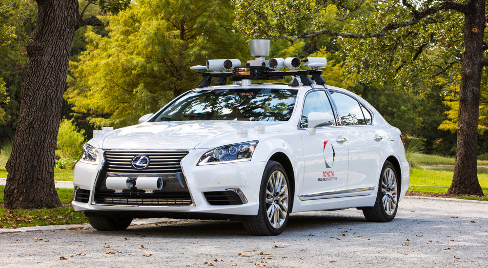 Lexus LS Automated Driving