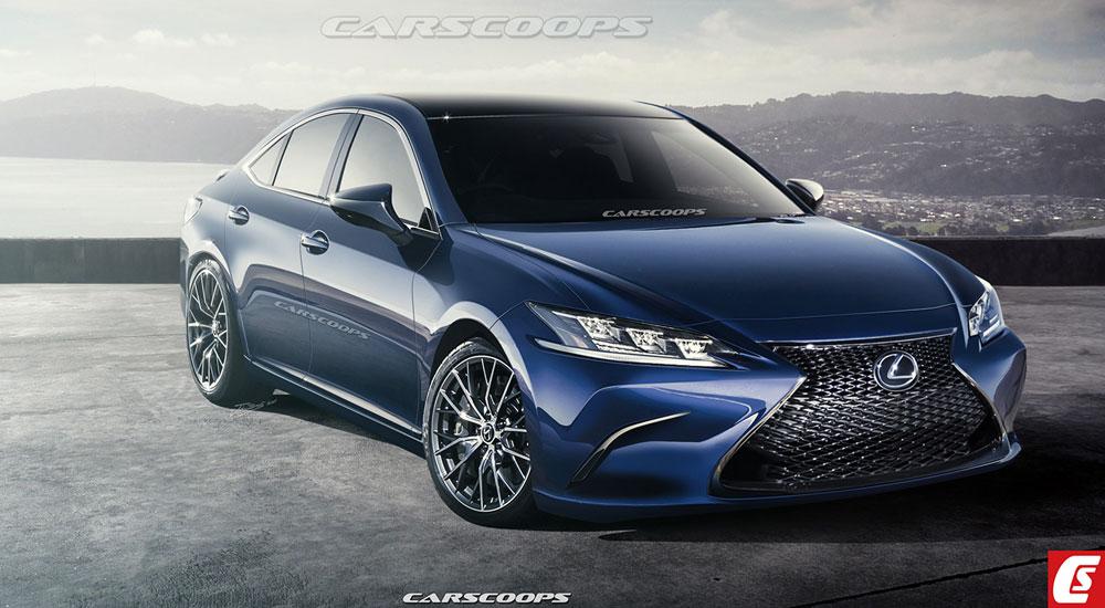 Lexus ES Rendering