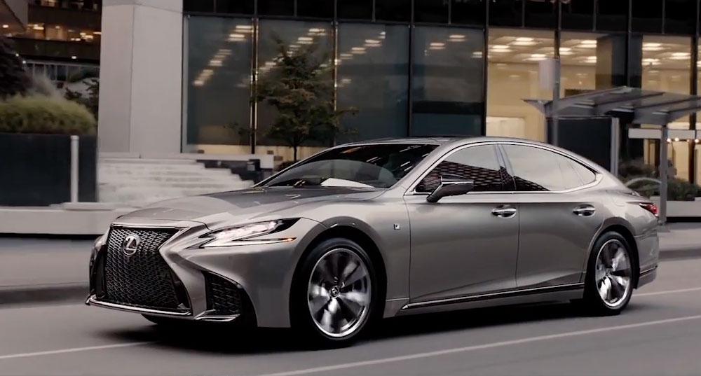 Lexus LS F SPORT Magnalese Luster
