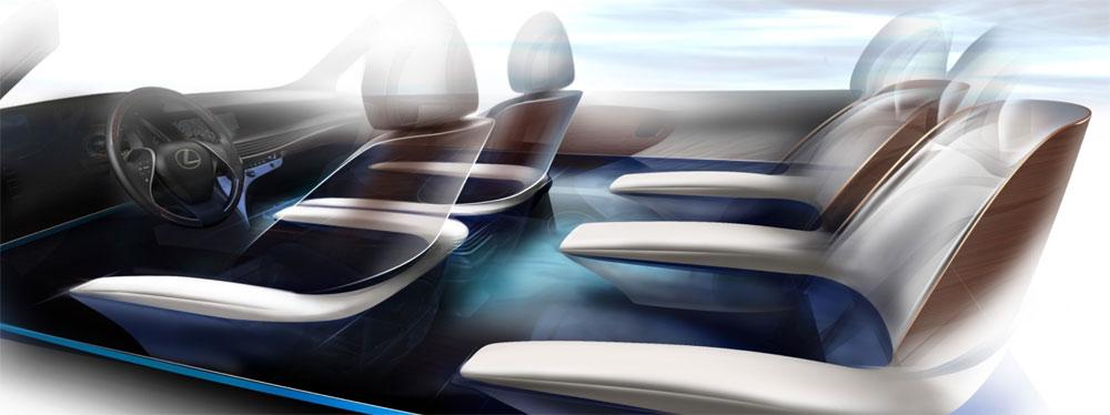 Lexus LS Interior Concept