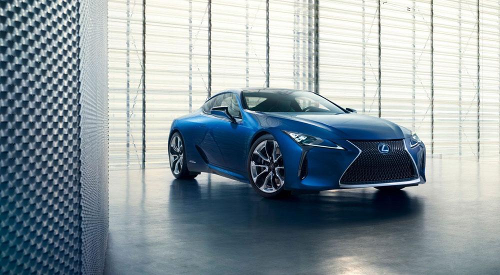 Lexus LC Structural Blue