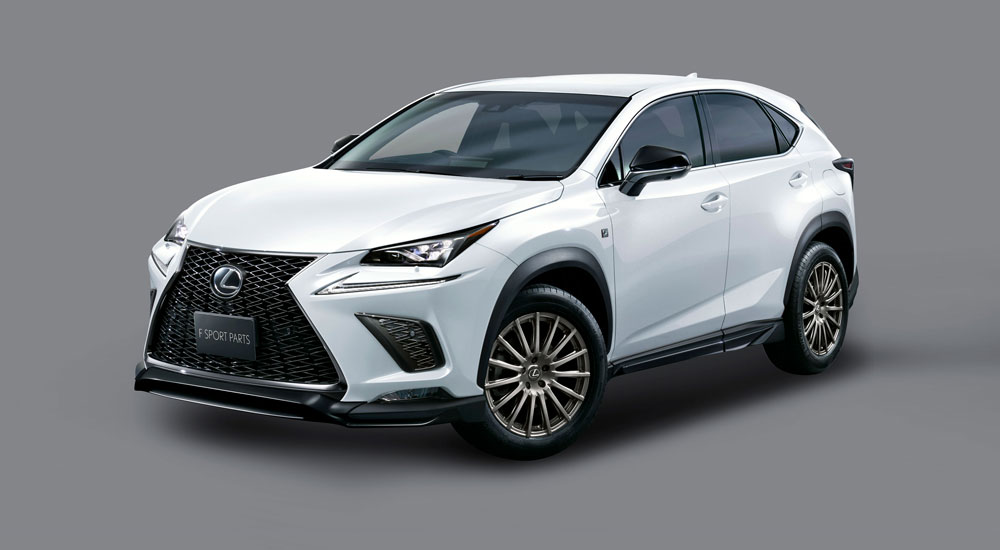 lexus nx 2018 trd japan body kit. Black Bedroom Furniture Sets. Home Design Ideas