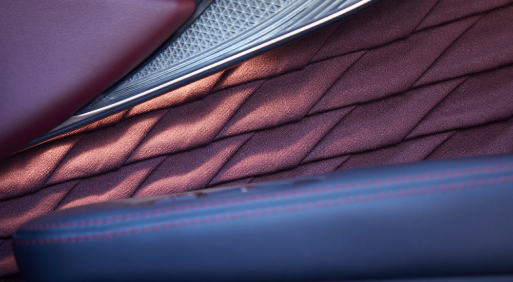 Lexus LS Alcantara Door Panels