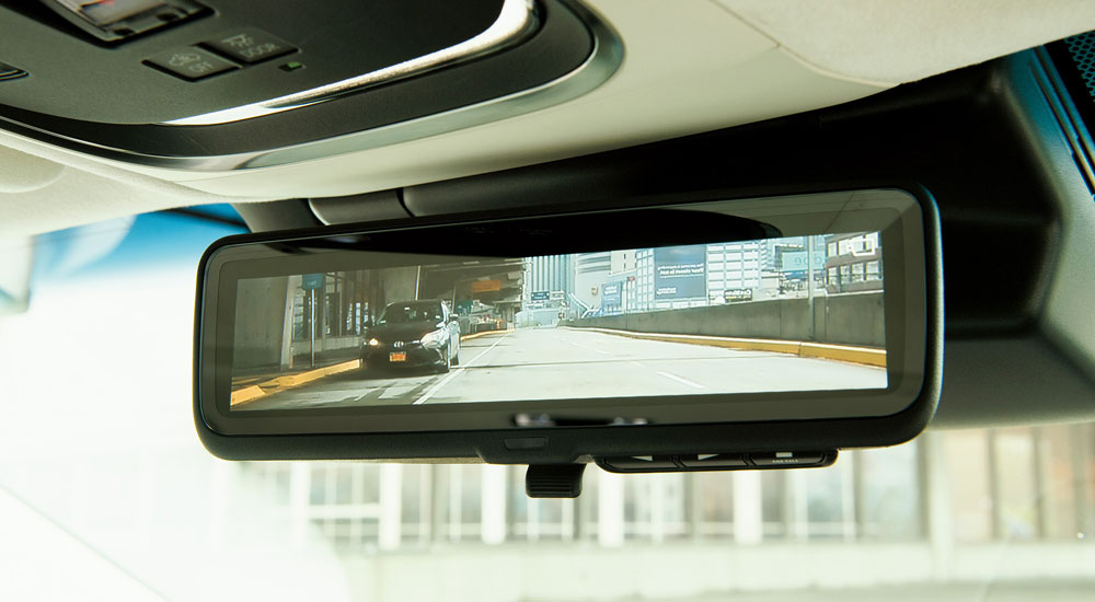 Lexus LS Digital Rearview Mirror