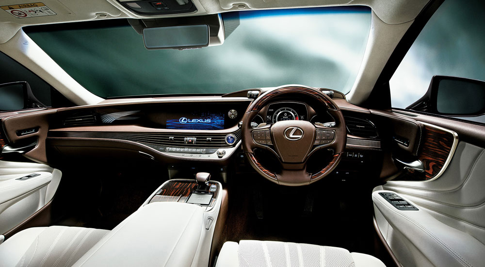 Lexus LS Interior Japan