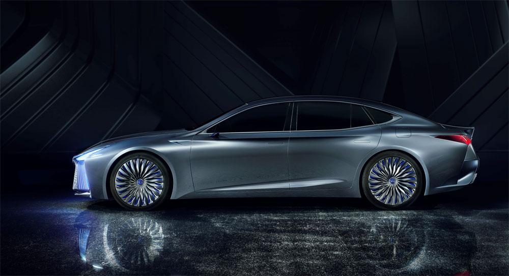 Lexus LS Concept Rear