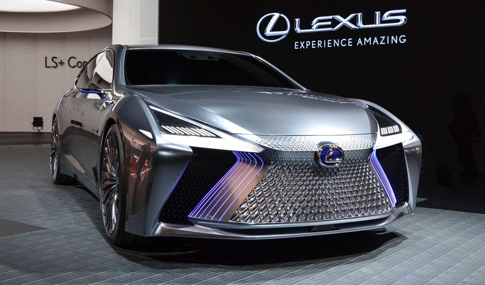 Lexus LS Concept Live