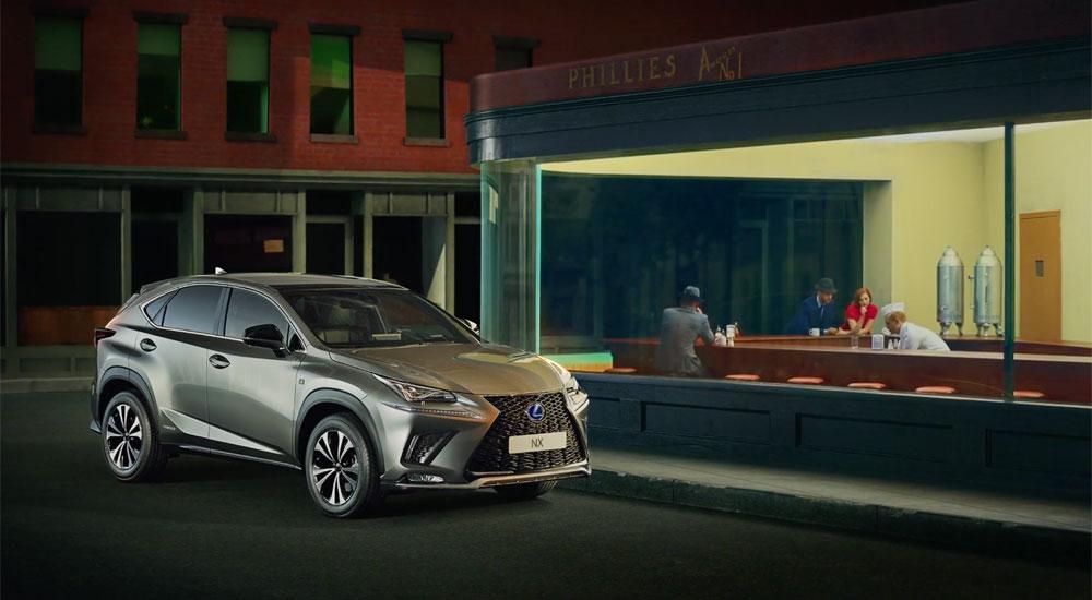 Lexus NX Art Commercial