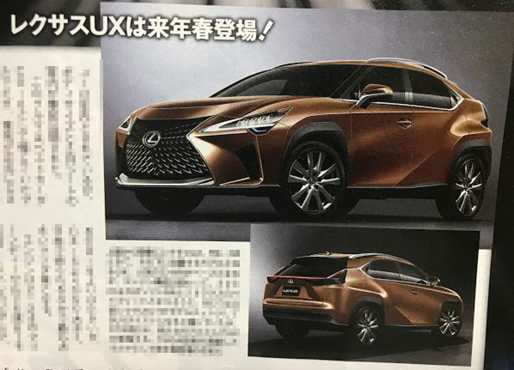 Lexus UX Best Car Full