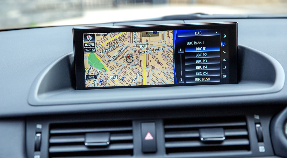 Lexus CT Navigation