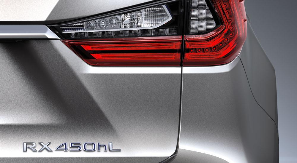 Lexus RX 450hL Badge