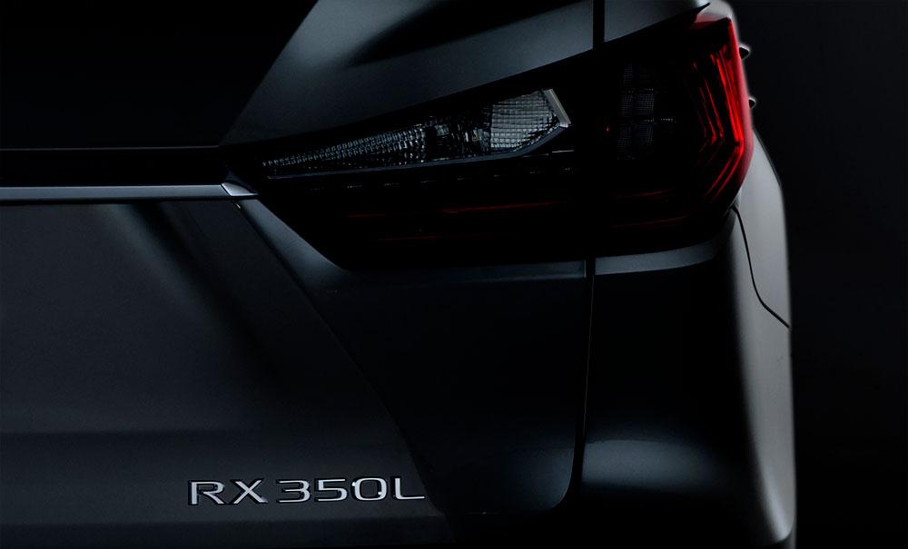 Lexus RX L Teaser
