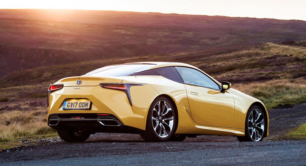 Lexus LC Solar Yellow