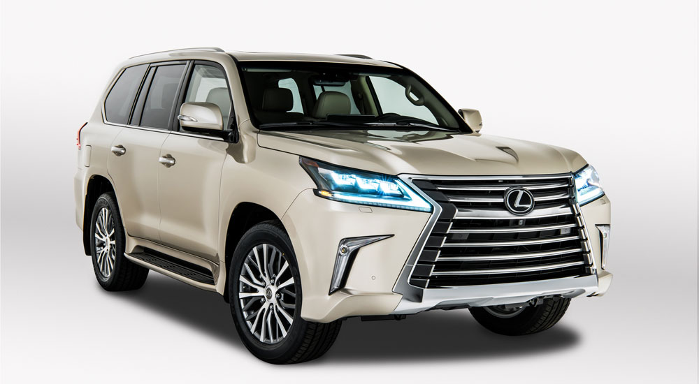 Lexus LX Two Row