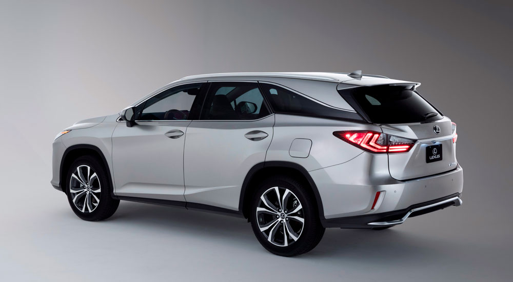 The 2018 Rx 350l And 450hl Models Retain Their Stylish Figures But Now Offer Choice Of Six Or Seven Penger Capability