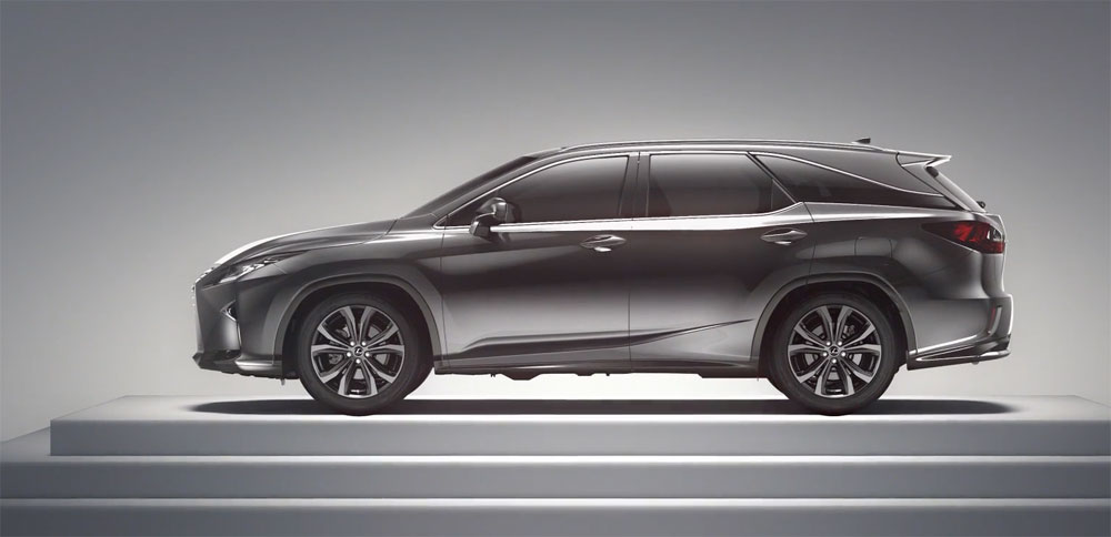 Lexus RX L Video