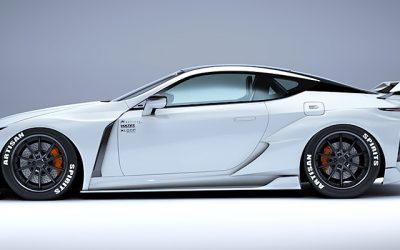 Lexus Lc Black Label Body Kit From Artisan Spirits Lexus Enthusiast