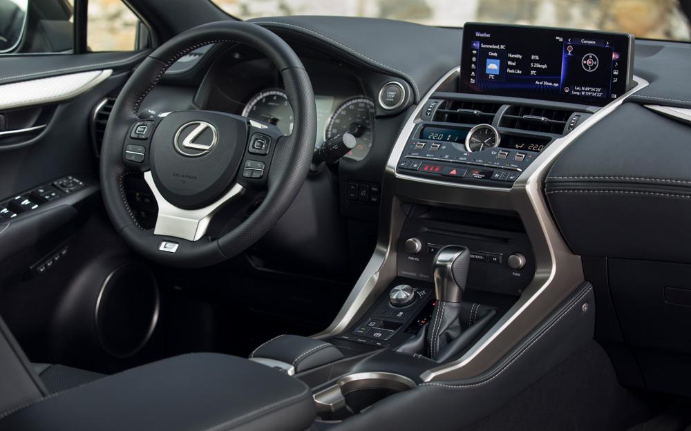 Lexus NX Interior