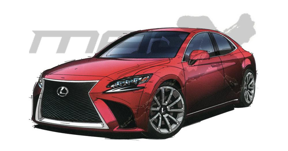 Lexus ES Next-Gen Front