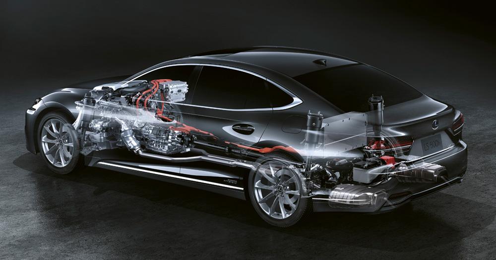 Lexus Hybrid Rear